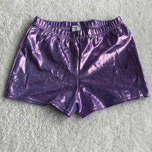Bottoms - Glitter ✨ Purple girls spandex